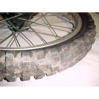 77 Yamaha TT500 TT 500 Front Wheel Rim Tire
