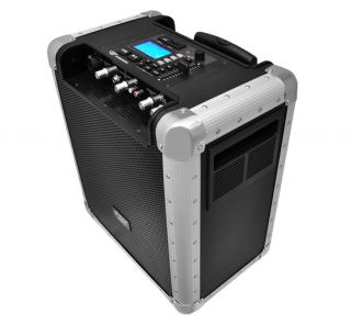 PCMX265B Battery Powered Portable PA System With USB SD, DJ Controls