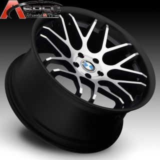 20 Euro Tech UO06 Staggered Machined Face Wheel Fit BMW 550 650 750