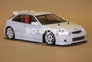 Tamiya 1 10 RC Honda Civic EK9 Type R L E D Lights Mint Ready to Run