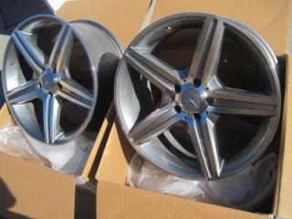 19 MB Style Wheels Rims W204 W212 C250 C300 C350 E350 E550