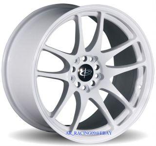 18 Rota Wheels Torque 5x100 White TC Matrix XD WRX Rim