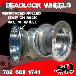 12x7 .190 Aluminum Beadlock Wheel 4x156 Polaris Ranger RZR xp900 800