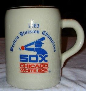 Chicago White Sox 1983 Western Division Champs Mug