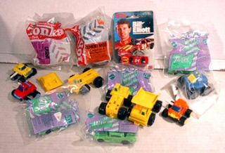 14 Asst Hot Wheels Tonka Style McDonalds Toy Cars