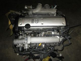 Toyota SC300 JDM 1JZ GTE Turbo VVT I Engine vvti Motor Wiring ECU