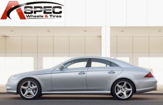 18 Mercedes AMG Style Staggered Silver Wheel Fit C Class C230 C280
