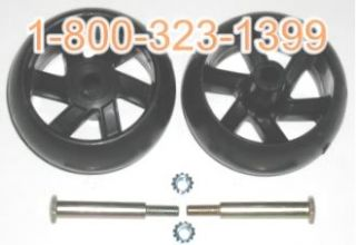 174873 Craftsman Deck Wheel Kit Includes Wheel Bolts 193406 Poulan