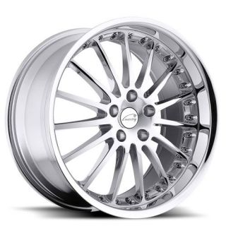 Whitley 19x8.5 Chrome Alloy Wheels Rims 5x120 +20 S Type XF XJ XK