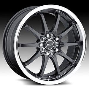 18 x7 5 MSR 092 0927 s F Gray Wheels Rims 4 5 Lug