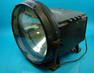 Antique Steam Engine Locomotive Train Headlight Headlamp 110 Volt