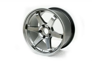 17 STAGGERED VARRSTOEN ES220 5X114.3 +30 HYPER BLACK WHEEL FIT HONDA