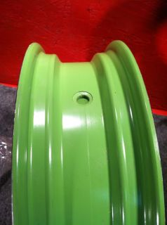 New Green Chinese Scooter Front Disc Wheel 13x3.50 J13XMT350 @ Moped