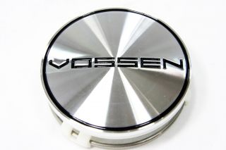 Brushed Machined Vossen Wheels Center Cap Part 2204000125 75mm