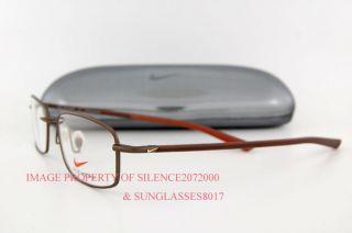 Brand New Nike Eyeglasses Frames 4150 242 Brown for Men