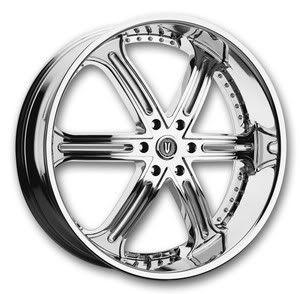 26 Chrome Wheels Tires 6x139 Chevy GMC Nissan Escalade