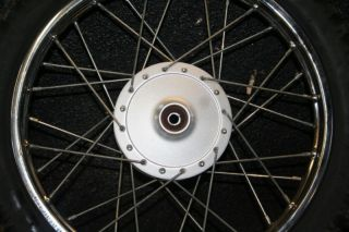 Yamaha TTR110 Front Wheel Hub Rim Spoke