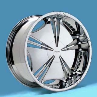 18 in Verde Helix Chrome Wheels 18x8 4 New Rims 5x114 3 5x120
