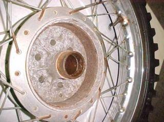 1970 70 Suzuki TS250 TS 250 Rear Wheel Rim