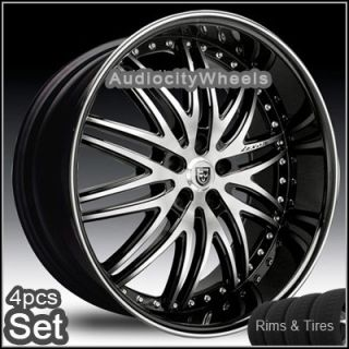 22Wheels Tires Lexani LX10 Rims 5LUG Chevy Truck Camaro Impala Ad