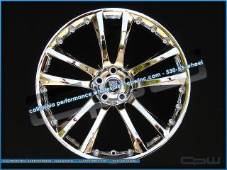 Sentaii Chrome 20 inch Wheels Rims Fit Jaguar XJ XJL Supercharged