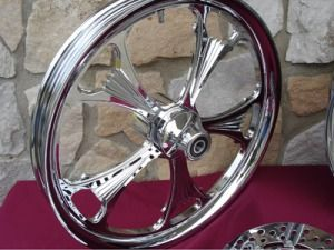 Custom Billet Wheels Parts for Harley Chopper 21 18x8 5