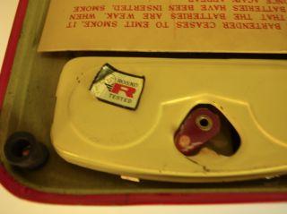Rosko Japan Tin 1950s Charley Weaver Bartender Doll Toy Battery Op