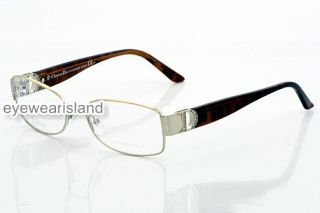 Christian Dior CD 3741 Eyeglasses Gold Optical Frame