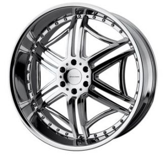 22 Chrome KMC Wheels Rims 6x5 5 Escalade Yukon Denali Tahoe Armada
