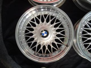 BBs RC 8 x 17 BMW Styling 5 Rims Mirror Polished