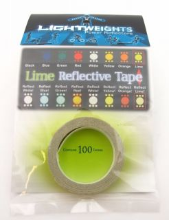 3M Reflective Pinstripe Lime Green Tape 100x3 8 Lightweights Car