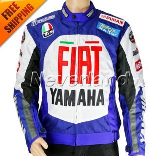 Yamaha YZF R1 R6 motorbike Jacket with Pad Motorcycle Racing Jacket M