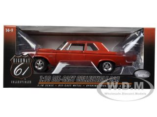 Brand new 1:18 scale diecast model car of 1965 Plymouth Belvedere