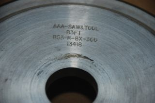 DIAMOND GRINDING WHEEL AAA SAW TOOL B3F1 B53 r BX 300 13416 INV2788