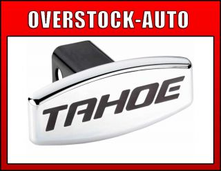 Bully Stainless Steel Dual Layer Chrome Hitch Cover Tahoe Logo