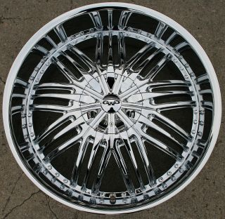 GWG Assasin G24 24 Chrome Rims Wheels Chevrolet Trailblazer