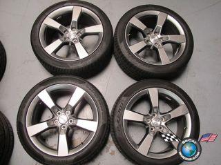 Chevy Camaro Factory 20 HyperSilver Wheels Tires OEM Rims 5444 5446