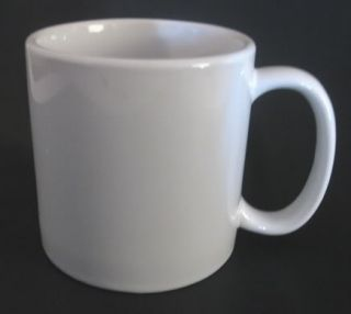 World Ultima White Ceramic 20 oz Coffee Mug Huge