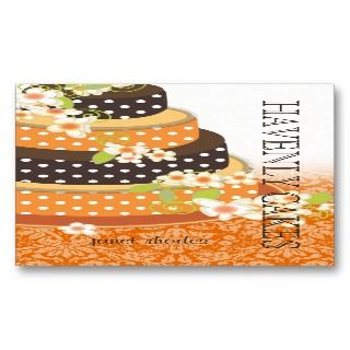 Wedding Cake/Bakery/pâtisserie Business Cards