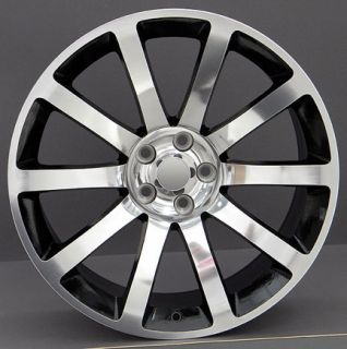 20 Black Rims 300 SRT8 Charger SE SXT RT Magnum Wheels