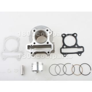 80cc Big Bore Kit Cylinder Body Piston Rings Set Chinese Scooter Moped