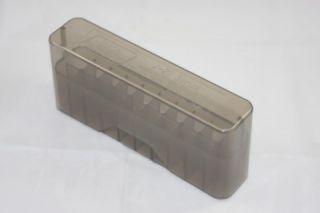 Plastic Ammo Box MTM Case Gard 20RD Rifle Slptop J20LLD