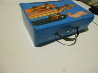 Vintage Hot Wheels Flying Colors 24 Car Collectors Case