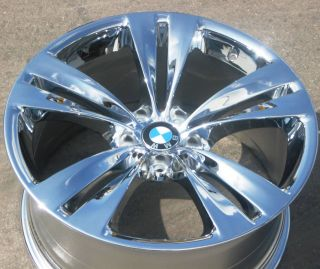 20 BMW 535i 550i GT Style 316 Factory Chrome Wheel Rim 71378 1 Single