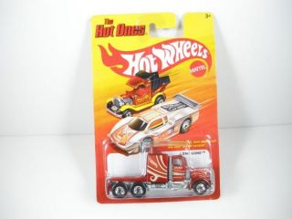 2012 Hot Wheels Hot Ones Long Gone Semi Truck