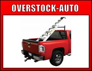 Bully CG 902 Utility Adjustable Steel 2 Bar Cargo Ladder Truck Rack