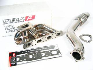 OBX Turbo Manifold Header 92 98 BMW E36 318i 318IS w DP