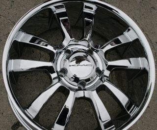KMC Skitch 673 20 Chrome Rims Wheels RAM 1500 2 4WD 94 10 20 x 8 5 5H