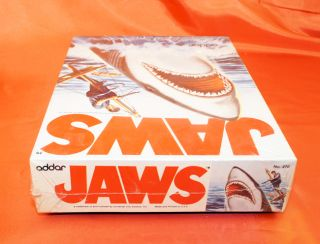 AURORA JAWS SHARK MODEL KIT SEALED IN ORIGINAL PLASTIC # 270 FROM 1975