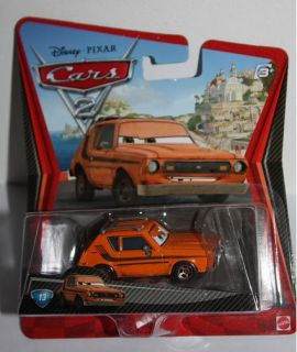 Disney Pixar Cars Spy Agent Orange Grem Classic Diecast 13 Vehicle
